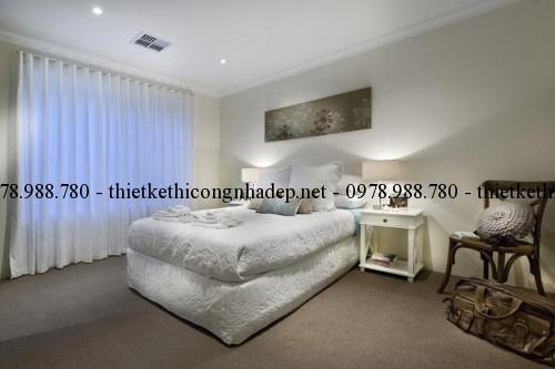 Phòng ngủ 3 biệt thự vườn 12x26m