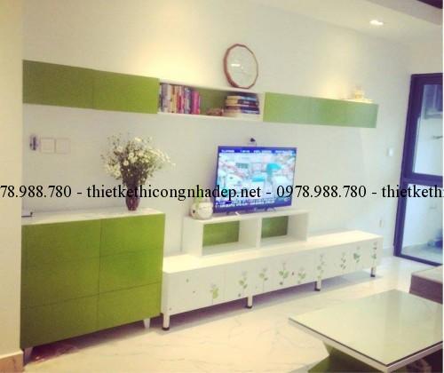 Thiết kế và thi công nội thất chung cư Star City