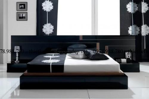 Mẫu giường ngủ gỗ số 40