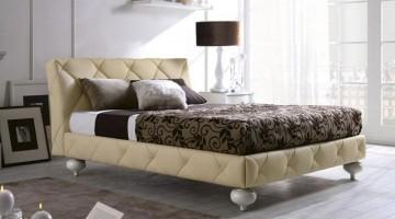 Các mẫu giường ngủ hiện đại bọc da bọc nỉ
