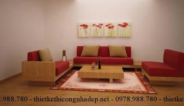 Để có một bộ bàn trà phù hợp với sofa phòng khách, bạn cần chọn bàn trà có cùng tông màu với sofa