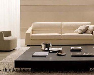 Cách chọn bàn trà hợp với ghế sofa phòng khách.