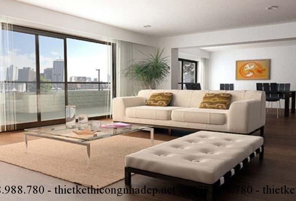 Một bàn trà đẹp cần có kích thước phù hợp với diện tích căn phòng cũng như bộ sofa phòng khách