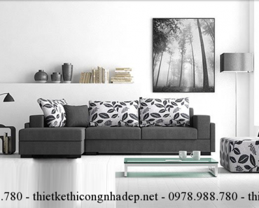 Cách làm sạch và bảo quản bộ ghế sofa phòng khách.