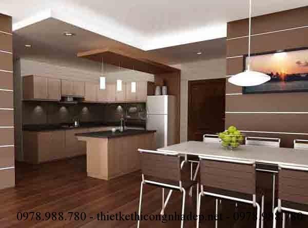 Chỉ cần biết cách phối hợp màu sắc trong thiết kế nội thất phòng bếp bạn sẽ có được một căn phòng ấm cúng và vui vẻ