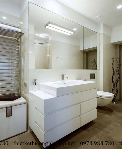 Phòng vệ sinh chung cư đẹp