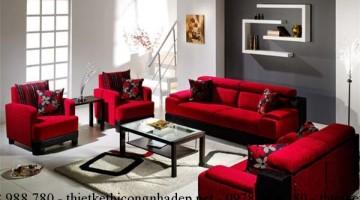 Tư vấn cách chọn vải bọc ghế sofa phòng khách