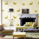 Sử dụng giấy dán tường trong thiết kế nội thất chung cư