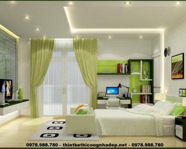 Thiết kế phòng ngủ đẹp và hợp phong thủy