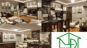 Thiết kế và thi công nội thất chung cư kim văn kim lũ