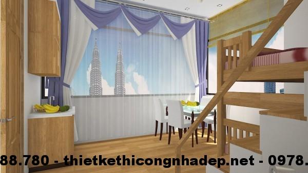 Phòng ngủ cho bé góc 2