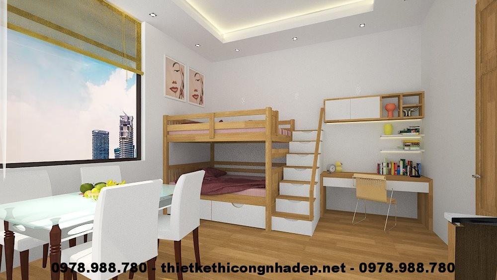 Phòng ngủ cho bé góc 3