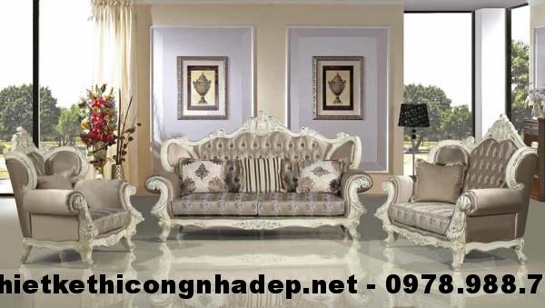 Ghế sofa cổ điển SCD20