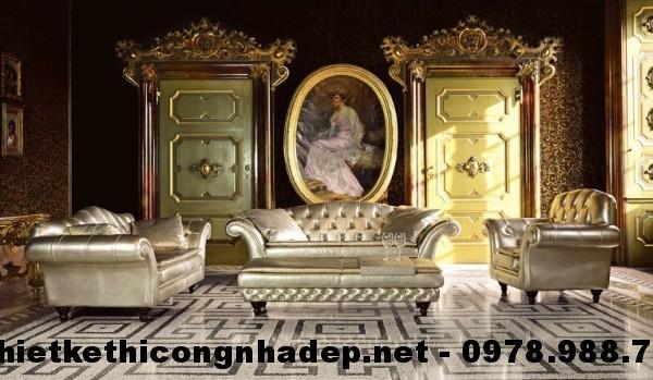 Ghế sofa cổ điển SCD17