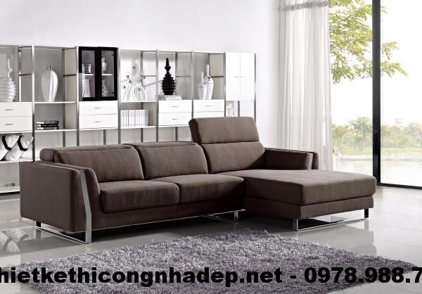Ghế sofa nỉ đẹp SN3