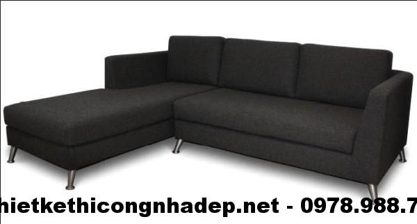 Ghế sofa nỉ đẹp SN8