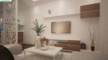 Mẫu thiết kế nội thất chung cư cao cấp HH3C Linh đàm