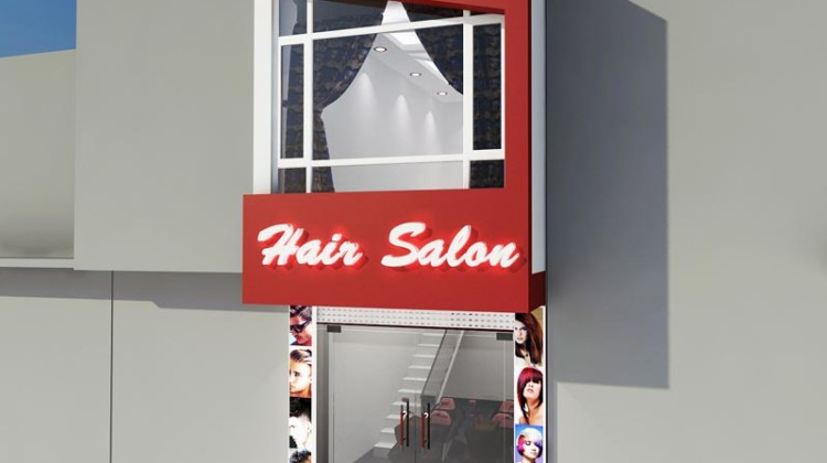 Salon tóc đẹp, thiết kế salon tóc