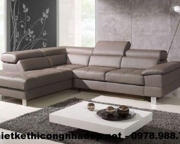 Bàn ghế sofa góc cao cấp SG3