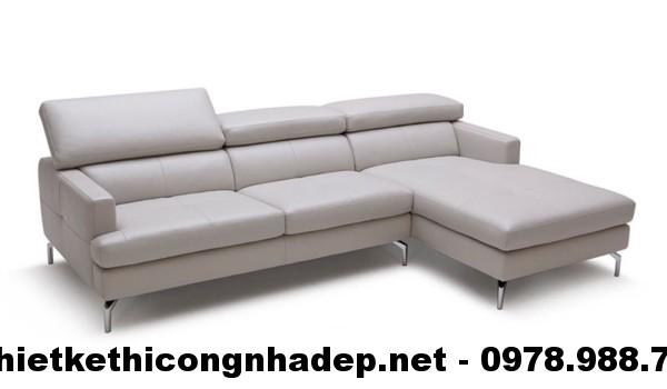 Bàn ghế sofa góc cao cấp SG6