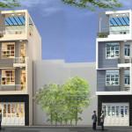 Thiết kế nhà phố 4 tầng đẹp, thiết kế nhà phố 5x12m