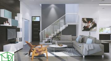 Thiết kế nội thất biệt thự, nội thất biệt thự hiện đại