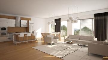 Chuyên thiết kế nội thất chung cư, mẫu nội thất chung cư