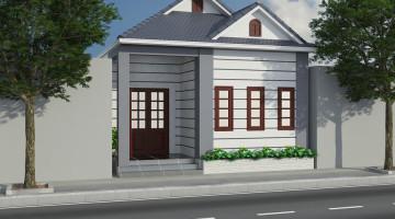 Thiết kế nội thất nhà cấp 4, nội thất nhà cấp 4 đẹp NDNC44