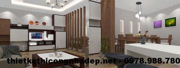Phòng khách và phòng ăn NDNC44