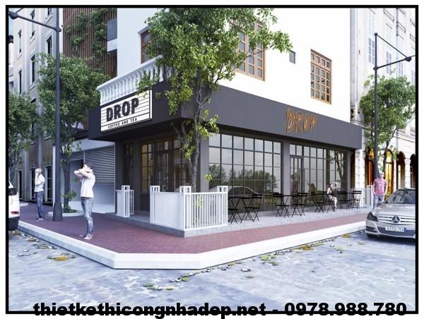 Cải tạo quán cafe 40m2, thiết kế quán cafe NDCF1