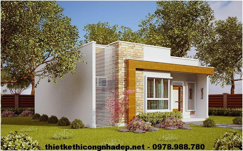 M u nh c p 4 n gi n p nh c p 4 m i b ng 80m2 ndnc49 for Casa minimalista 70m2
