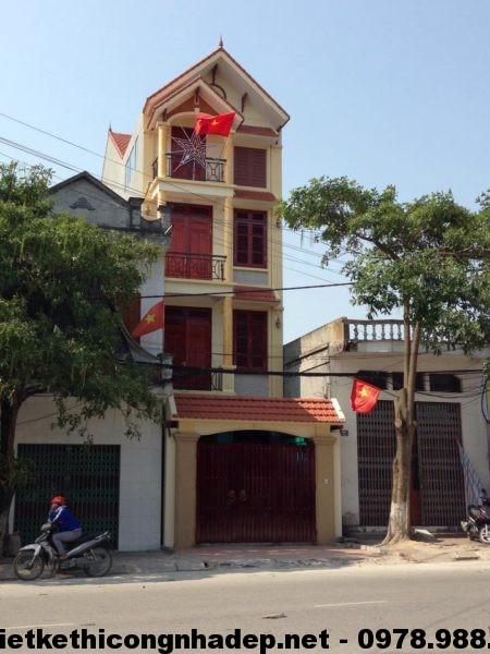 Phối cảnh nhà phố 4 tầng NDNP4T2