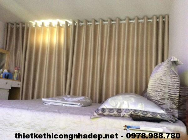 Giường ngủ nhà cấp 4 đẹp NDNC411