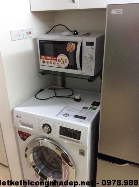 Máy giặt và lò vi sóng