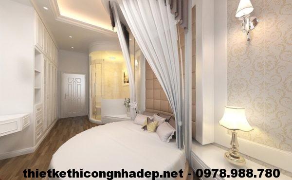 Phòng ngủ nhà phố cổ điển NDNP3T2