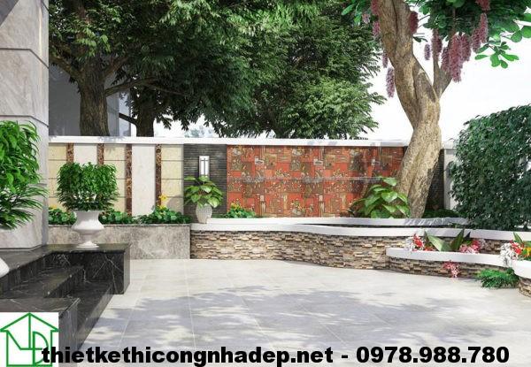 Sân vườn trước nhà NDBT3T1