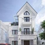 Thiết kế biệt thự 3 tầng đẹp, mẫu nhà biệt thự 3 tầng đẹp NDBT3T1
