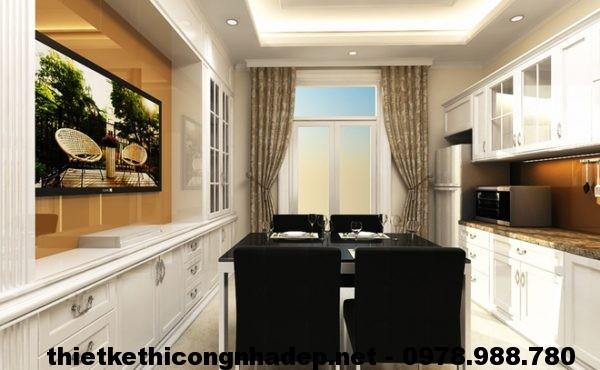 Thiết kế phòng bếp đẹp NDNP3T2