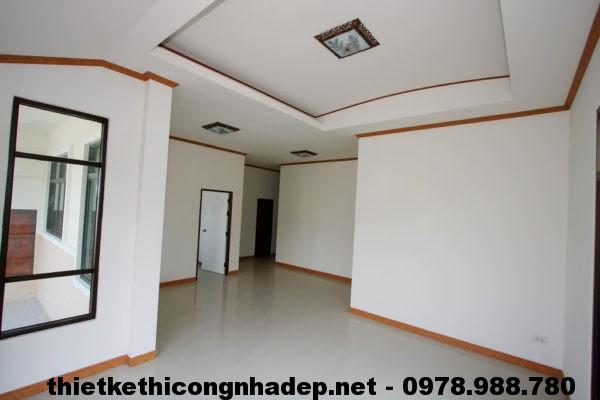Nội thất nhà vườn 1 tâng NDBT1T9