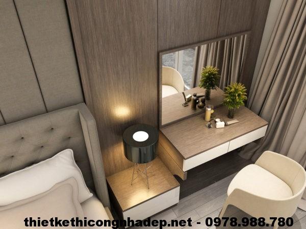 Thiết kế nội thất phòng ngủ đẹp NDNTPN1