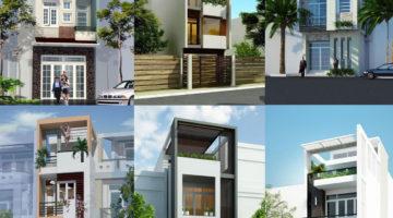 Mẫu nhà phố 3 tầng đẹp, mẫu nhà 3 tầng 30m2 NDNP3T3