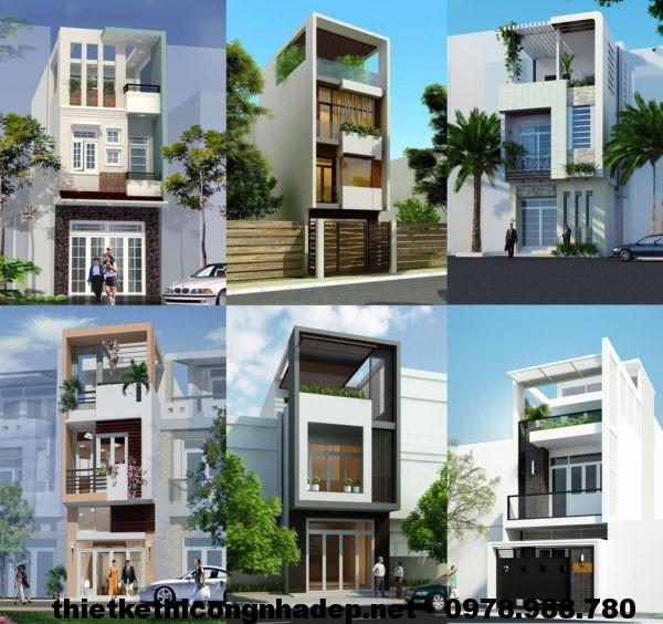 Mẫu nhà 3 tầng 30m2 NDNP3T3