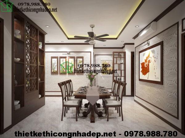 Nội thất phòng bếp đẹp NDNC413