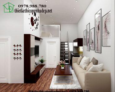 Thiết kế chung cư mini đẹp NDNTCC1