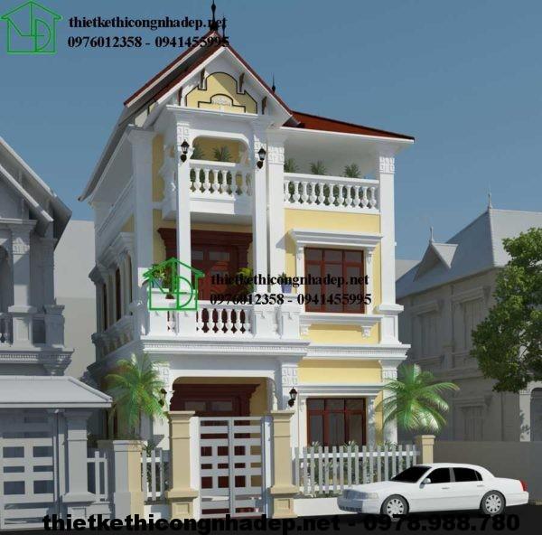 Biệt thự đẹp Hà Nội NDBT3T5