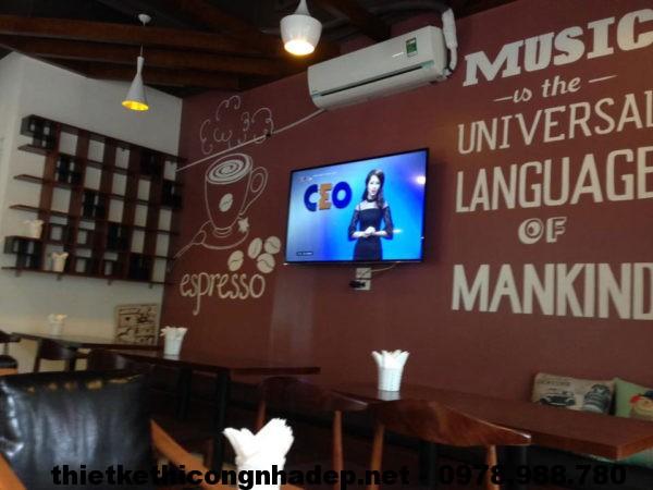 Hình ảnh thực tế quán cafe tại Hà Nội NDCF3