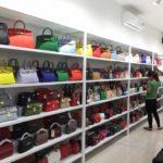 Thiết kế shop giày dép, thiết kế shop túi xách NDTKS6