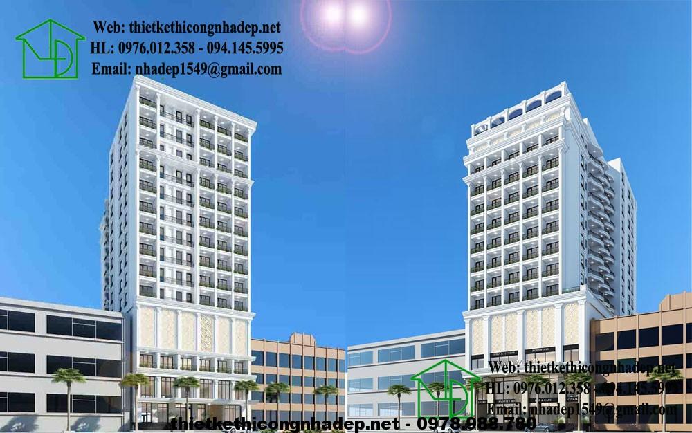 Thiết kế khách sạn đẹp NDTKKS2