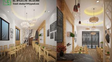 Thiết kế quán cafe tại hà nội, thi công quán cafe trọn gói NDCF5