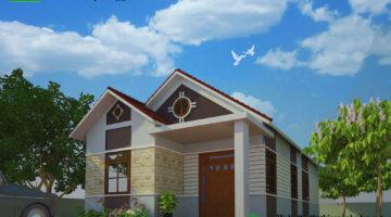 Nhà đẹp cấp 4, nhà đẹp cấp 4 nông thôn NDNC430